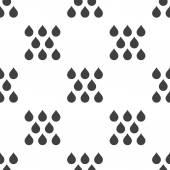 Rain, vector seamless pattern — Stockvektor