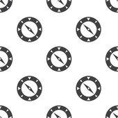 Compass, vector seamless pattern — Stock Vector