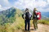 (khao chang puak) montanhas e selva na tailândia. — Fotografia Stock
