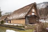 Aldea histórica de Shirakawago, Gifu, Japón — Foto de Stock