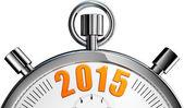 Stop watch 2015 — Zdjęcie stockowe