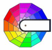 Círculo de color — Foto de Stock