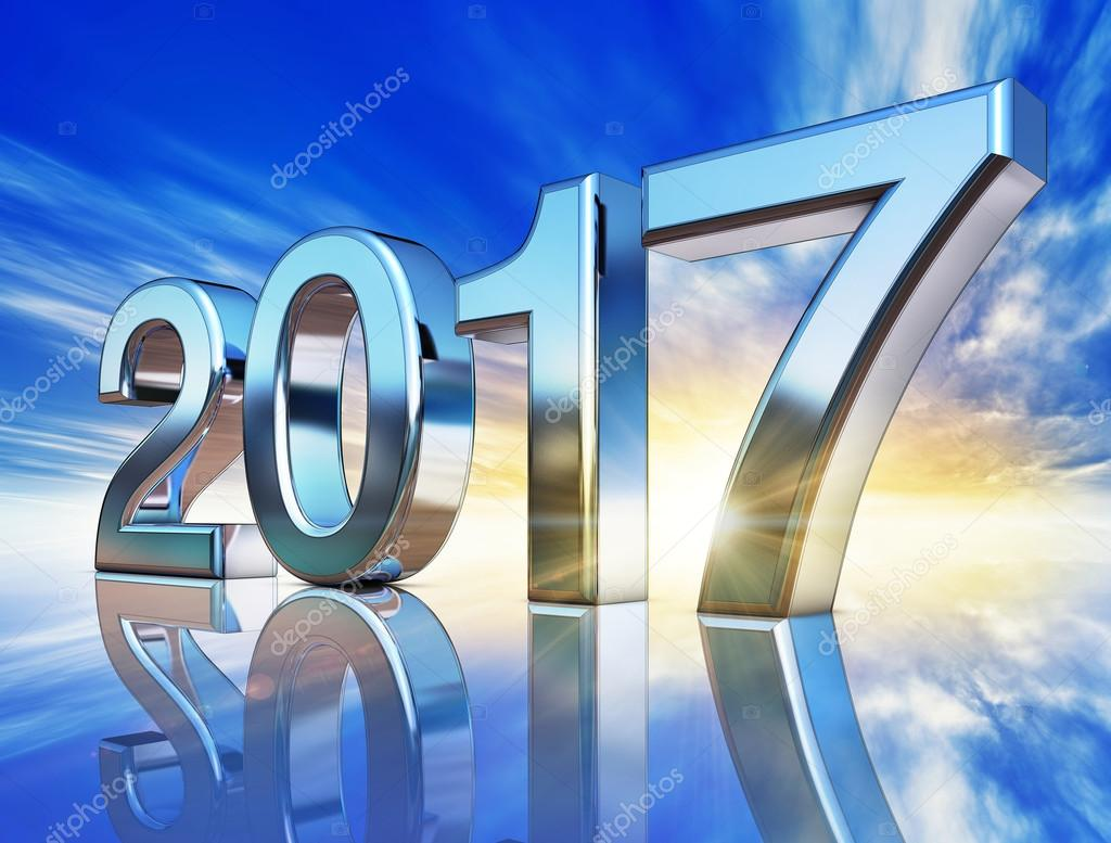 Icon of 2017 — Stock Photo © Frank-Peters #97378450