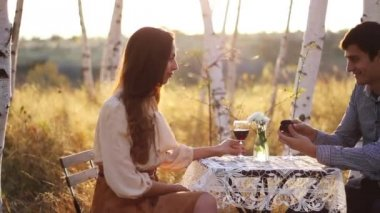 Romantic Marriage Proposal — Stock Video