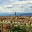 Day to Night Timelapse Summer Art Travel Duomo Cathedral Italy Dome Florence Architecture City Tuscany Cityscape Italian Maria Church Renaissance Fiore Europe View Firenze Santa Landscape Basilica Famous Old Medieval Landmark Del Scenic Aerial Dusk — Stock Video #72473685