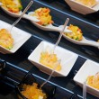 Food for cocktail on wedding party — ストック写真 #54278459