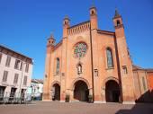 Alba, Cuneo, Italy. Duomo of San Lorenzo (Cathedral) — Stock Photo