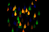 Bokeh drops — Stock Photo