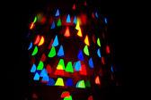Bokeh triangle — Stockfoto