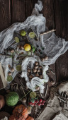 Still life witch — Stock Photo