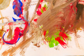 Abstract oil painting — Stock Photo