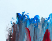 Abstract paint background — Stock Photo
