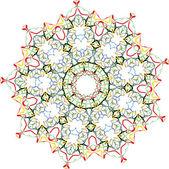Ornement floral Vector — Vecteur