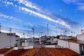 Typické bílé andaluské vesnice — Stock fotografie