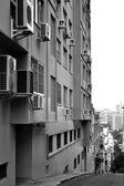 The streets of Porto Alegre — Stock Photo