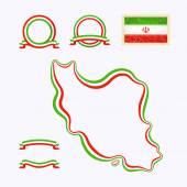 Цвета из Ирана — Cтоковый вектор