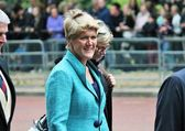 Royal Balcony Trooping of the color 2015 Claire Balding — Stock Photo