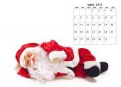 Christmas calendar — Stock Photo