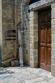 Dentro de un monasterio en Meteora, Grecia — Foto de Stock