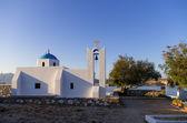 Church in Ano Koufonisi island, Cyclades, Greece — Stockfoto