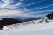 Mountain scenery in Vigla, Florina's ski center, Greece — Foto de Stock