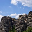 Monastery on top of a cliff in Meteora, Greece — Stock Photo #71152211