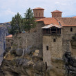 Monastery on top of a cliff in Meteora, Greece — Stock Photo #71152343