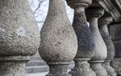 Seria kolumn granitowych — Zdjęcie stockowe