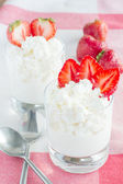 Dessert from cottage cheese  — Stock Photo