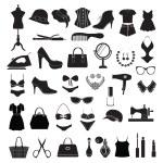 Fashion accessories - Illustration  — Stock Vector #54517825