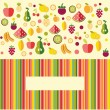 Fruits background - Illustration  — Stock Vector #59666811