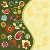 Summer Invitation Design - Illustration — Stock Vector