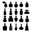 Vector set of perfume bottles - Illustration — Vector de stock  #71252595