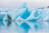 Detial view of iceberg in ice lagoon - Jokulsarlon, Iceland. — Stockfoto