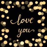 Shiny hearts light  background — Stock Vector #69683765