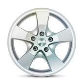 Wheel rim, vector — Stock Vector