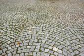 Gepflasterten weg — Stockfoto
