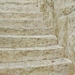 Old Stone White Staircase — Stock Photo #63025151