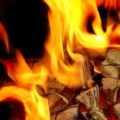 Blaze Fire Flame Background — Stock Photo