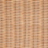 Brown Wicker Rattan Texture Background — Stock Photo