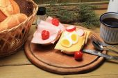Country Breakfast — Stock Photo