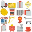 Vector Flat Icons - Retail — Stock Vector #52108885