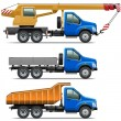 Vector Lorry Icons Set 3 — Stock Vector #54357717