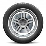 Vector Car Wheel with Disk Brake — Stock Vector #71100129