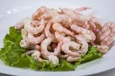 Shelled shrimp — Stock Photo