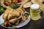 Füme tavuk — Stok fotoğraf