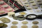 Numismatist — Stock Photo