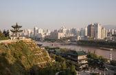 Pabellón de China en el parque de la ciudad — Foto de Stock