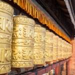 Buddhist stupa - Buddhist place of worship — Stock Photo #72597719