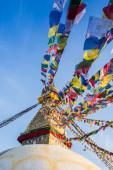 Buddhist stupa - Buddhist place of worship — Stock Photo